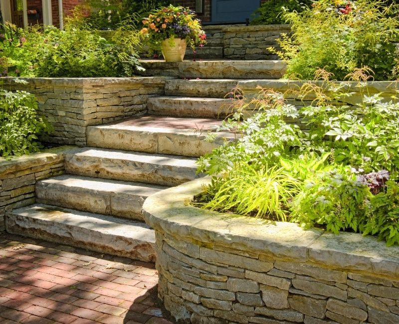 aesthetic landscaping features
